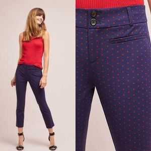 NWT ANTHROPOLOGIE The Essential Slim Trousers 2